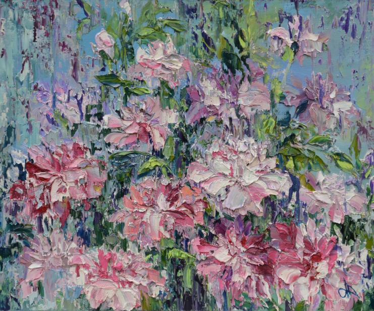 Выставка «Цветочные мотивы»