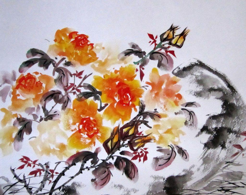 Мастер-класс «Китайская живопись У-Син»