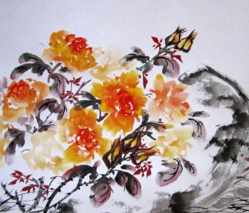 Workshop «Chinese painting of U-Shin»