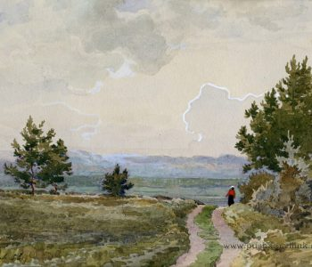 """Exhibition from the collection of the Pushkin Reserve """"For the village silence …"""""""