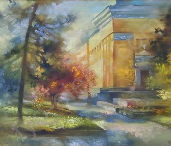 """Solo exhibition of Elena Te """"Paint of summer"""""""