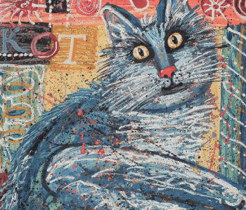 "Exhibition ""Cats for the increase of kindness"""