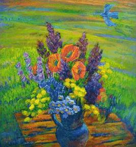 "The exhibition ""Light. On the work of Zhanna Chetvertnova"""
