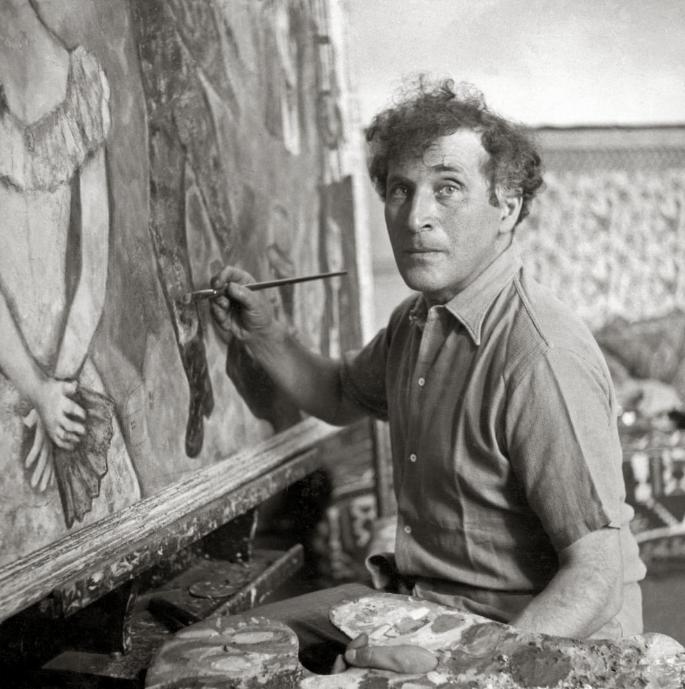 Выставка Марка Шагала