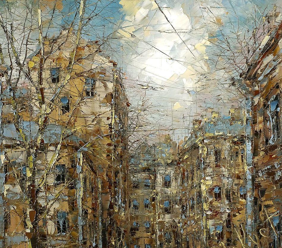 Выставка «Пространственный реализм Дмитрия Кустановича»