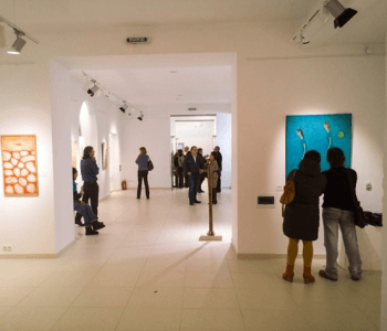 Exhibition of artists of the gallery