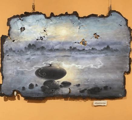 Выставка Любови Помещиковой «Глубины времени»