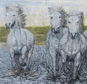 Выставка Светланы Михайловой «Рисую нитью»