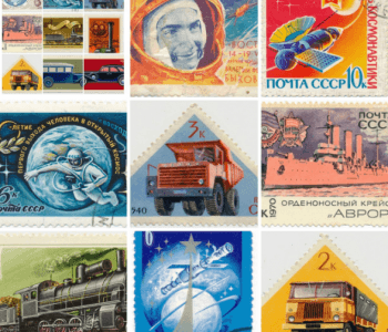 "Exhibition of postage stamps of Russia, the USSR and foreign postage stamps of the ""Anniversary of October"""