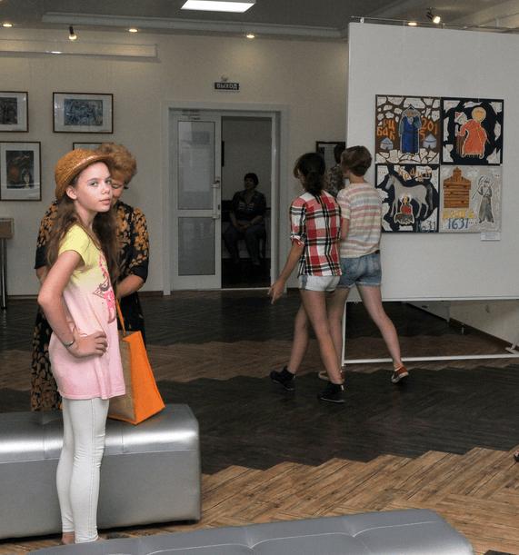 Выставка «Мы витаем в облаках»
