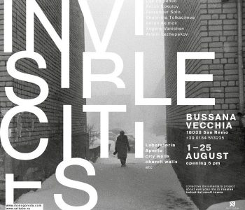 "ArtTube will present the exhibition ""INVISIBLE CITIES"" in Italy"