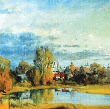 Выставка работ коломенского художника Геннадия Савинова «Живопись. Графика»