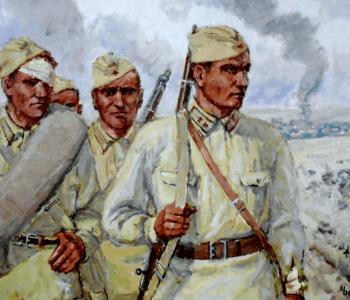 Выставка Мефодия Остапенка и Анатолия Клюева