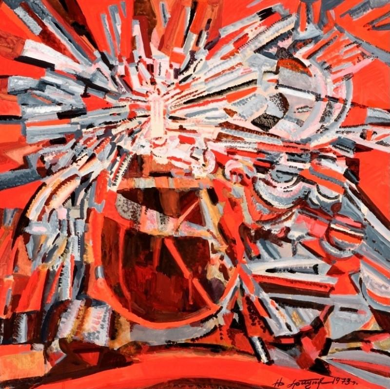 Выставка графики «Пылающий мир Николая Грицюка»