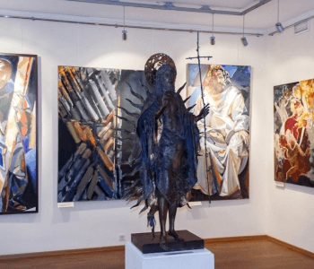 "Exhibition ""Timely Art. Leonid Baranov, his friends and heroes"""