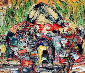 Выставка Боба Усороха «Примерь моё искусство»