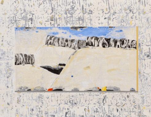 Выставка произведений живописи сирийского художника Низара Сабура «Стены  пальмиры»