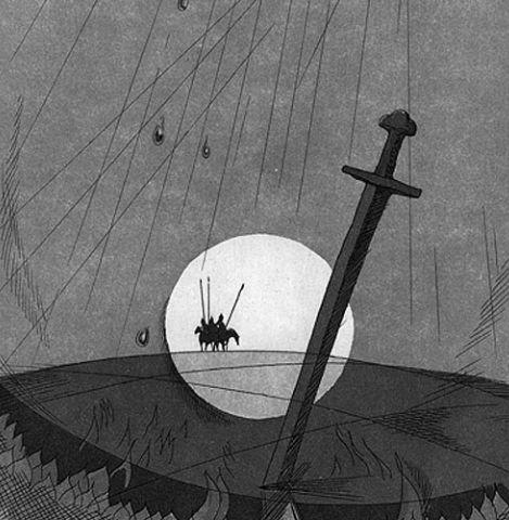 Выставка Алексея Шмаринова «Кто с мечом…»