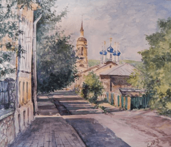 "Exhibition of Yuri Saakov ""The World of Watercolors – 2017"""
