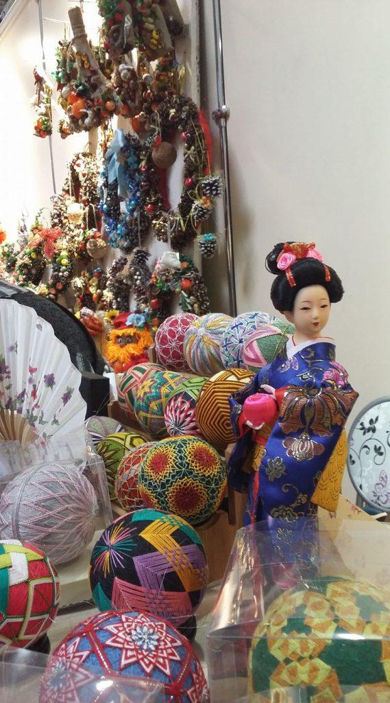 Выставка «Темари – загадочные шары Японии»