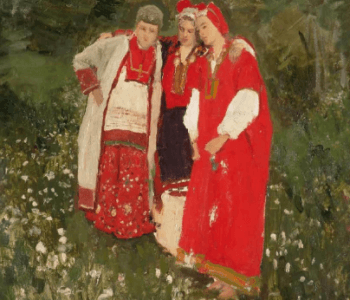 "The exhibition ""Red. Painting, folk and decorative art from the collection of the Russian Museum"""