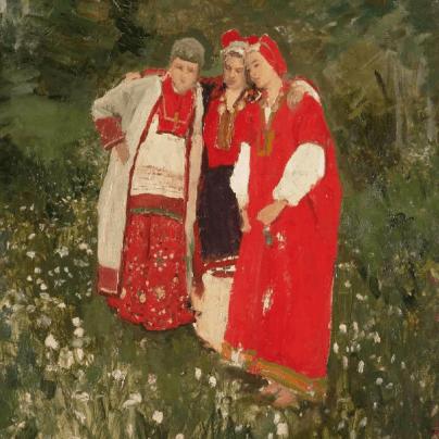 Выставка «Красный. Живопись, народное и декоративно-прикладное искусство из собрания Русского музея»