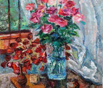 Выставка Аманбаевой Аружан «Мое вдохновение»