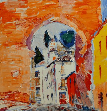 Выставка живописи Игоря Петрова «Дух места»