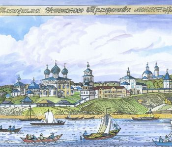 Tatyana Dedova's exhibition «Vyatka province, cities and villages 100 years ago»