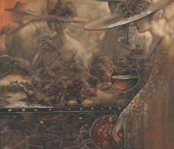 Выставка Ольги Шаньгиной «Лабиринты отражений»