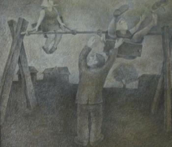 Выставка биеннале уникального рисунка