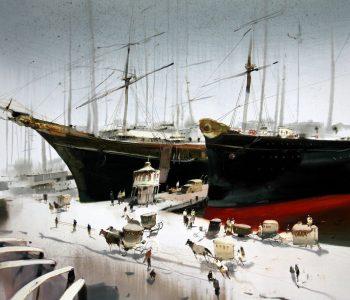Персональная выставка Александра Воцмуша «Мои истории»