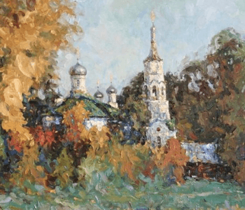 """Exhibition of the Union of Artists of Chuvashia """"From the Volga to the Urals"""""""
