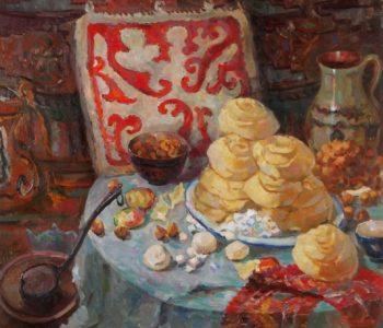 Выставка к 100-летию со дня рождения Народного художника РК Айши Галимбаевой