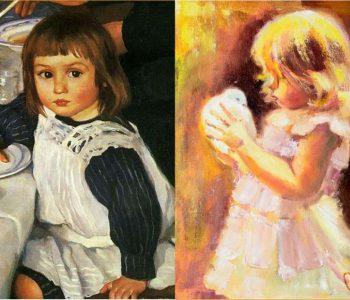 Выставка живописи, графики, скульптуры современных художников по результатам конкурса им. Зинаиды Серебряковой «Образ ребёнка»
