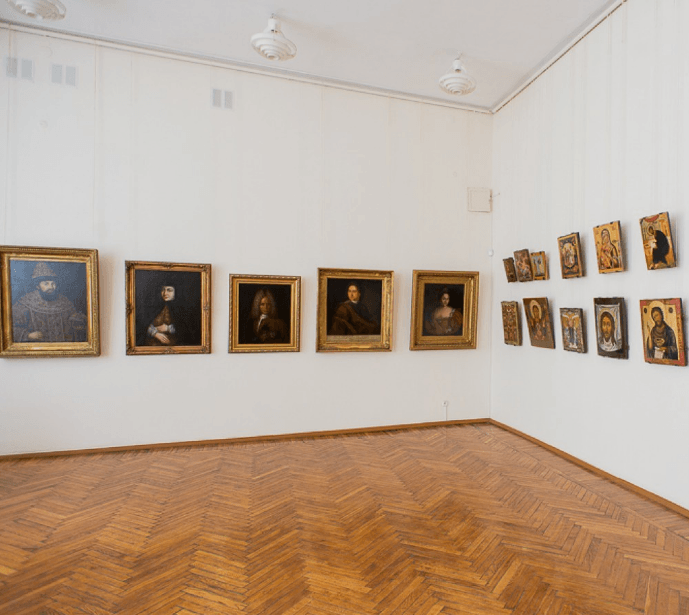 """Exhibition """"Gift to the Tula Art Museum"""""""