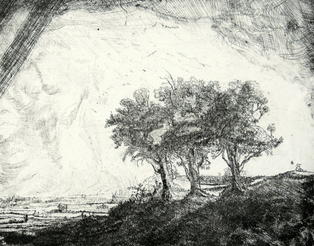 "Exhibition ""Etchings of Rembrandt"""