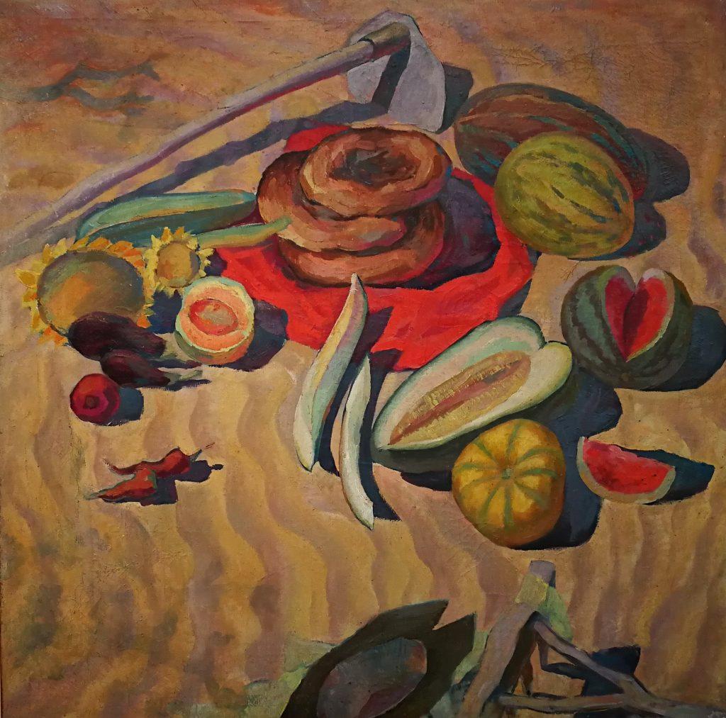 Выставка Амангельды Кененбаева «Сулу Тобе»