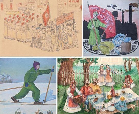 Образовательно-выставочный проект «Рисуют дети Поволжья (1930-е – 2010-е гг.)»