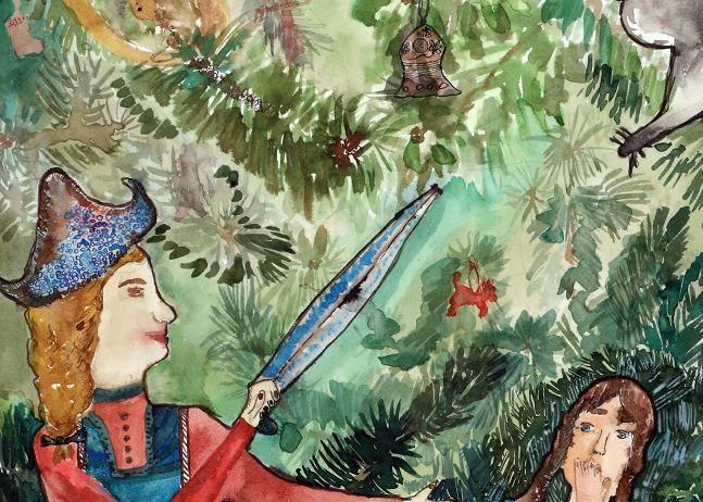 Цикл художественных занятий для детей «Зимняя сказка»