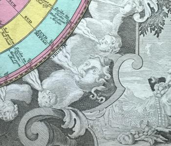 Выставка одного экспоната «Гравюра. Карта ветров»