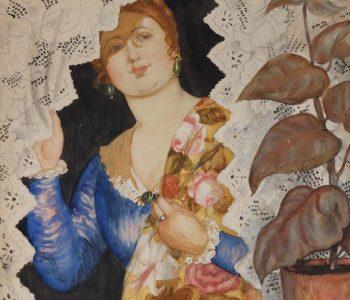 Выставка произведений Бориса Кустодиева «Венец земного цвета»