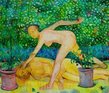 Выставка Кристапса Зариньша «И снова «в тени цветочных девушек»