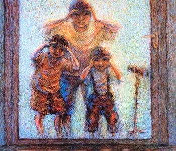 Выставка «Под радугой степи»