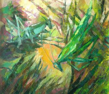 """Exhibition of Ulyanovsk artist Maria Bychkova """"From spring to summer"""""""