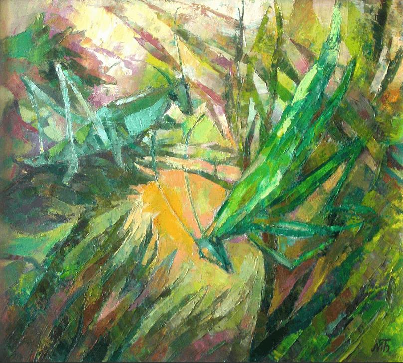 Выставка ульяновского художника Марии Бычковой «Из весны в лето»