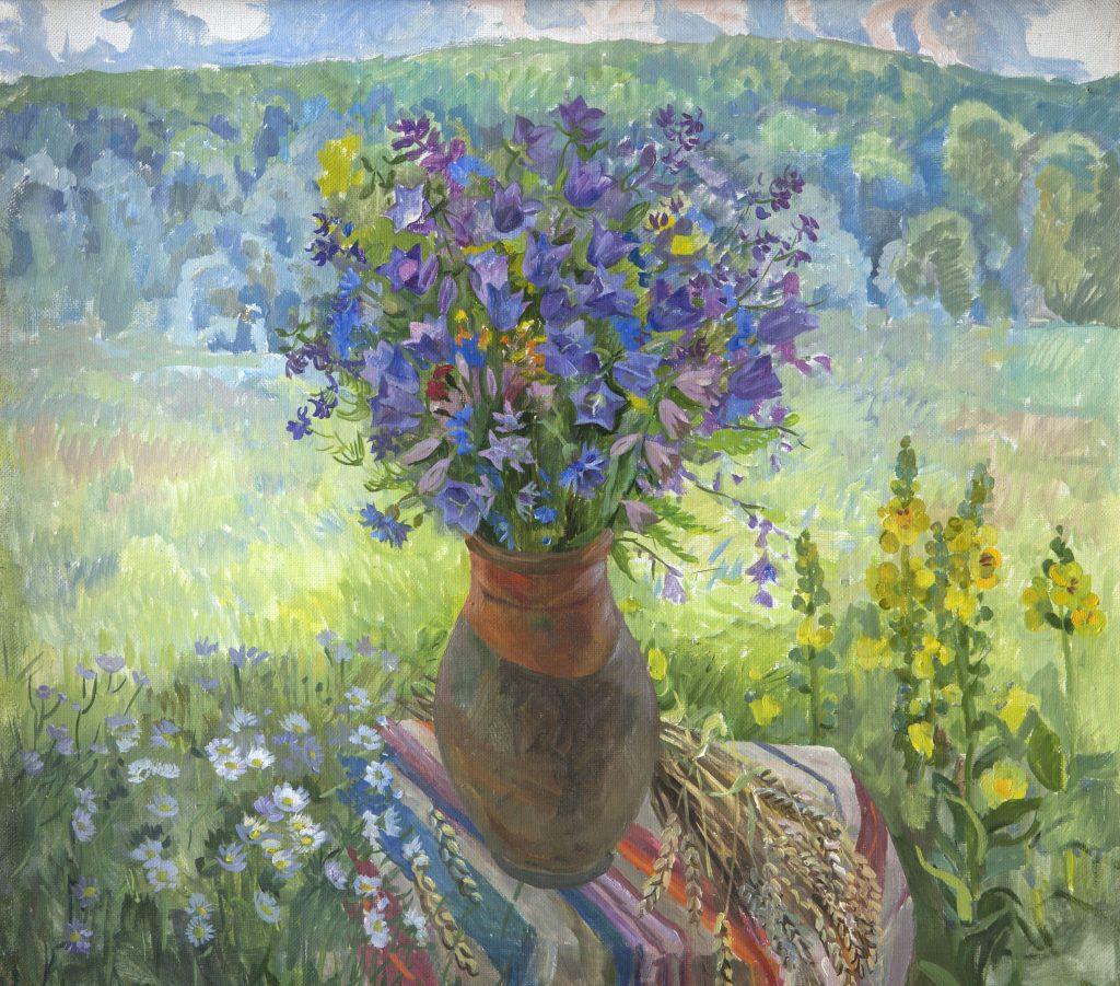 Выставка «Цветной мир Наталии Василенко»
