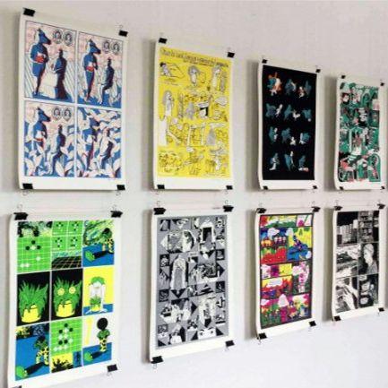 Выставка финских комиксов «Времена меняются»