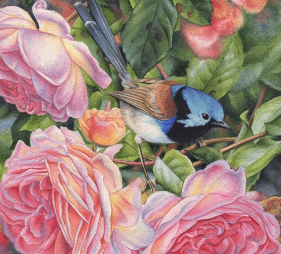 Выставка Татьяны Лошкарёвой  «Птицы-мысли»
