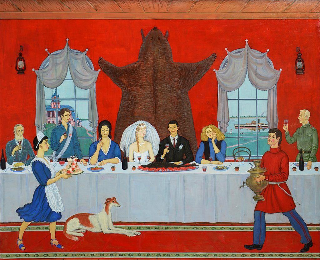 Художественная групповая выставка «Сто картин художников Оренбуржья»
